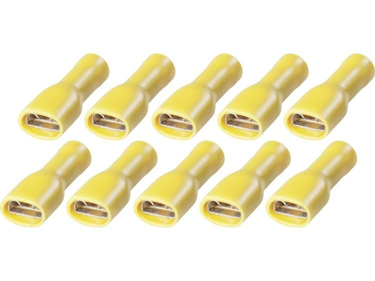 i 2,5 6 mm² 6,3 Platte insteekhulzen FSPV 6,3 6 2,5 tot 6 mm² Aantal polen 1