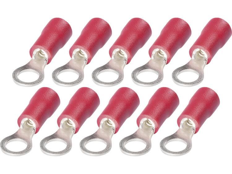 Ringkabelschuhe i 0,5 1,5 mm² M6 r Ringkabelschoenen met PVC isolatie RKP 6S 1 0,5 tot 1,5 mm² Aantal polen 1