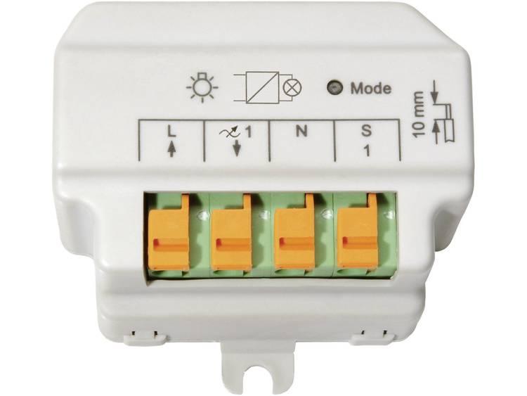 HomeMatic 91816 Draadloze fase-afsnijdingsdimmer 1-kanaals Inbouw 180 VA