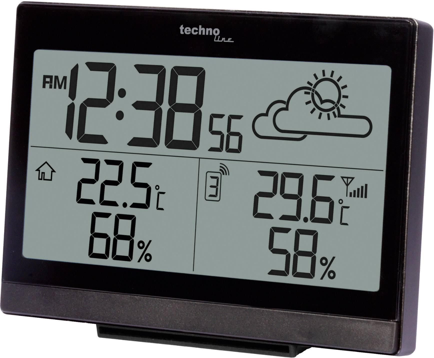 Conrad-Techno Line WS 9252 WS 9252 Draadloos weerstation-aanbieding