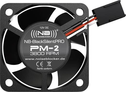 PC ventilator NoiseBlocker ITR-PM-2 Zwart (b x h x d) 40 x 40 x 20 mm