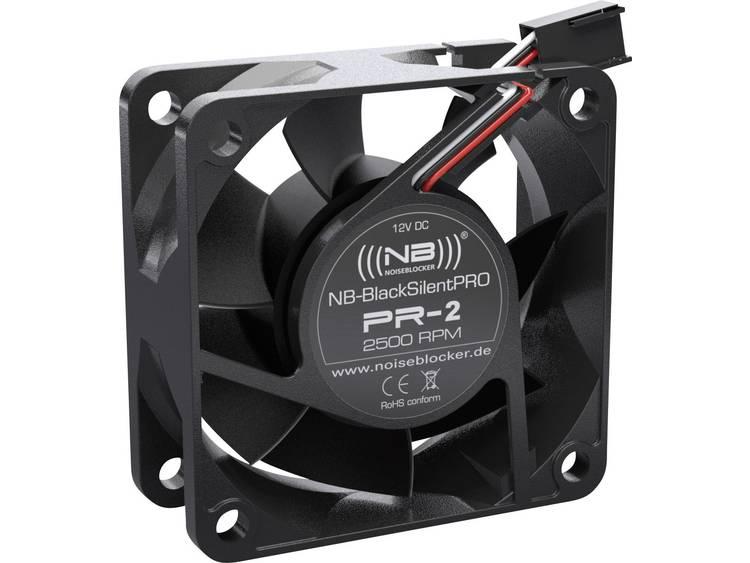 PC ventilator NoiseBlocker ITR-PR-2 Zwart (b x h x d) 60 x 60 x 25 mm