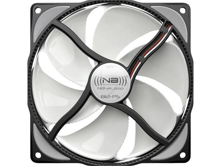 PC ventilator NoiseBlocker ITR-B12-PS Wit/zwart (b x h x d) 120 x 120 x 25 mm
