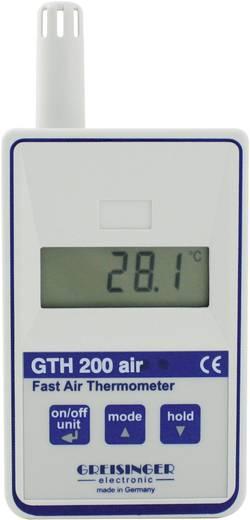 Temperatuurmeter Greisinger GTH 200 AIR -25 tot +70 °C Sensortype Pt1000 Kalibratie mogelijk: Zonder certificaat