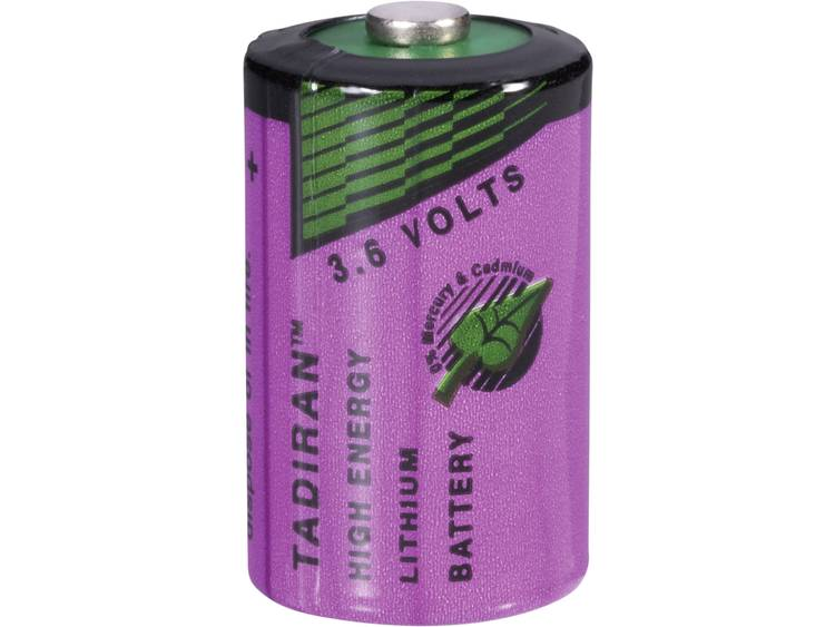 Tadiran Batteries 1-2 AA Lithium batterij 1100 mAh 3.6 V (� x h) 15 mm x 25 mm