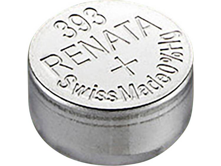 393 Knoopcel Zilveroxide 1.55 V 80 mAh Renata SR48 Compatible courant fort 1 stuk(s)