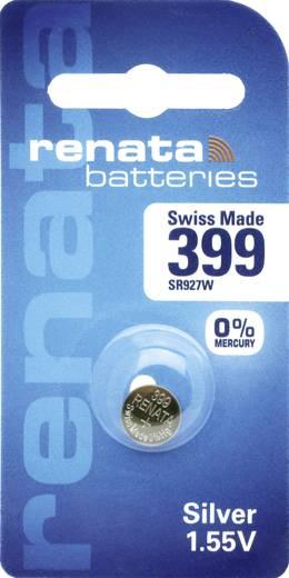 399 Knoopcel Zilveroxide 1.55 V 53 mAh Renata 1 stuks