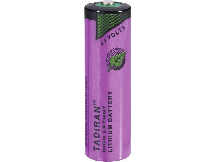Tadiran Batteries AA (penlite) Lithium batterij 2200 mAh 3.6 V (� x h) 15 mm x 50 mm