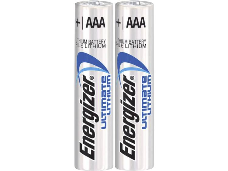 Energizer Batterij Ultimate Lithium Type-AAA Minipenlite 1,5volt 2st