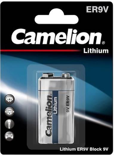 9V batterij (blok) Camelion 6LR61 Lithium 1 stuks