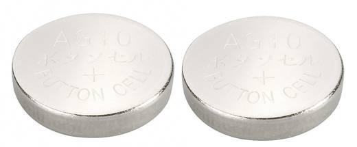 Conrad energy AG10 Knoopcel Alkaline (Alkali-mangaan) 72 mAh 1.5 V 2 stuks