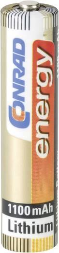 Conrad energy Extreme Power LR03 AAA batterij (potlood) Lithium 1100 mAh 1.5 V 2 stuks