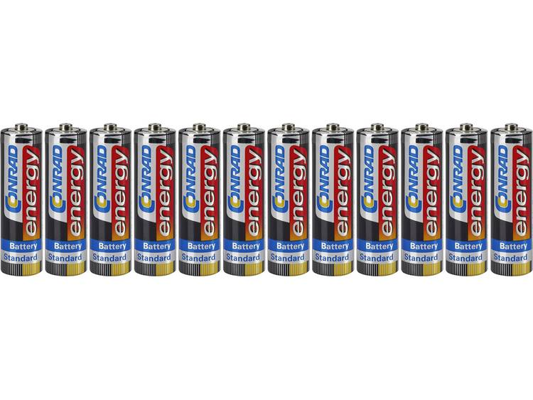 Conrad energy R06 AA batterij (penlite) Zink-kool 1.5 V 12 stuk(s)