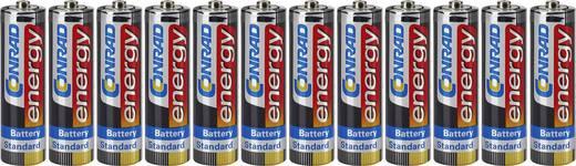 Conrad energy LR06 AA batterij (penlite) Zink-kool 1.5 V 12 stuks