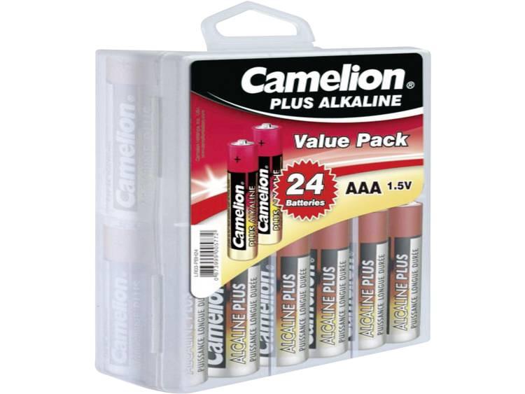 AAA batterij (potlood) Camelion Plus LR03 Alkaline 1250 mAh 1.5 V 24 stuk(s)
