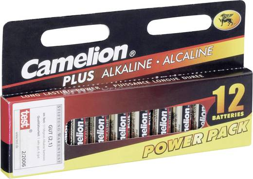AA batterij (penlite) Camelion LR06 Alkaline 1.5 V 12 stuks