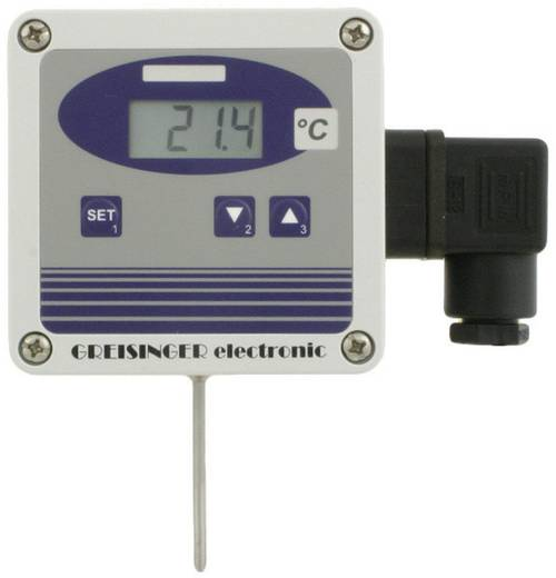 Greisinger GTMU-MP, Ausführung 3 Temperatuur-meetomvormer -50 tot +400 °C Sensortype Pt1000 Kalibratie: Zonder certific
