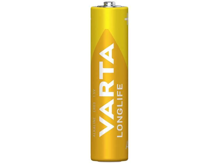 AAA batterij (potlood) Varta Longlife LR03 Alkaline 1200 mAh 1.5 V 4 stuk(s)