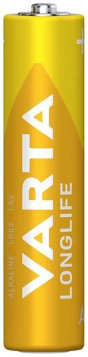 Varta Longlife LR03 AAA batterij (potlood) Alkaline (Alkali-mangaan) 1.5 V 4 stuks