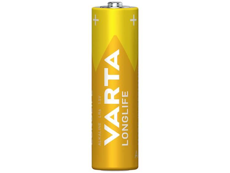 Varta Lognlife LR06 AA batterij (penlite) Alkaline 2800 mAh 1.5 V 4 stuk(s)