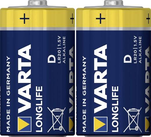 Varta Longlife LR20 D batterij (Mono) Alkaline (Alkali-mangaan) 1.5 V 2 stuks
