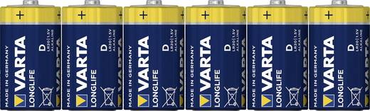 Varta Longlife LR20 D batterij (Mono) Alkaline (Alkali-mangaan) 1.5 V 6 stuks