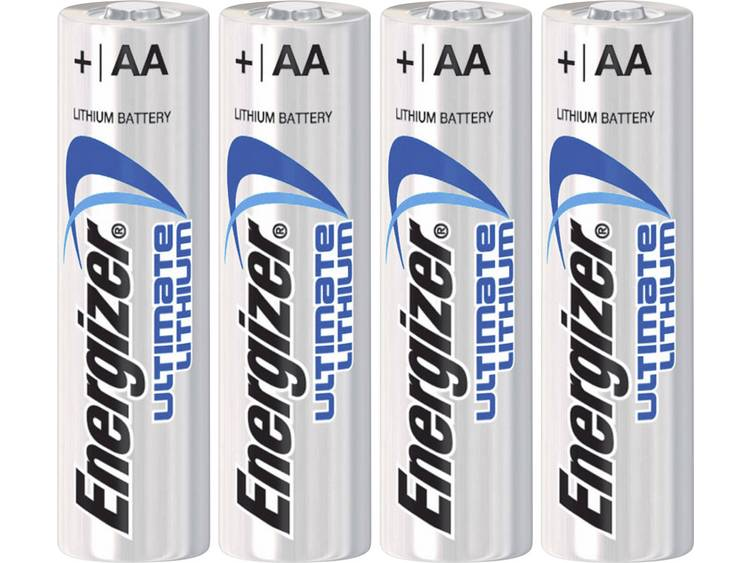 Energizer Enlithiumaa4 so Ultimate Lithium Batterijen Fr3 2-blister