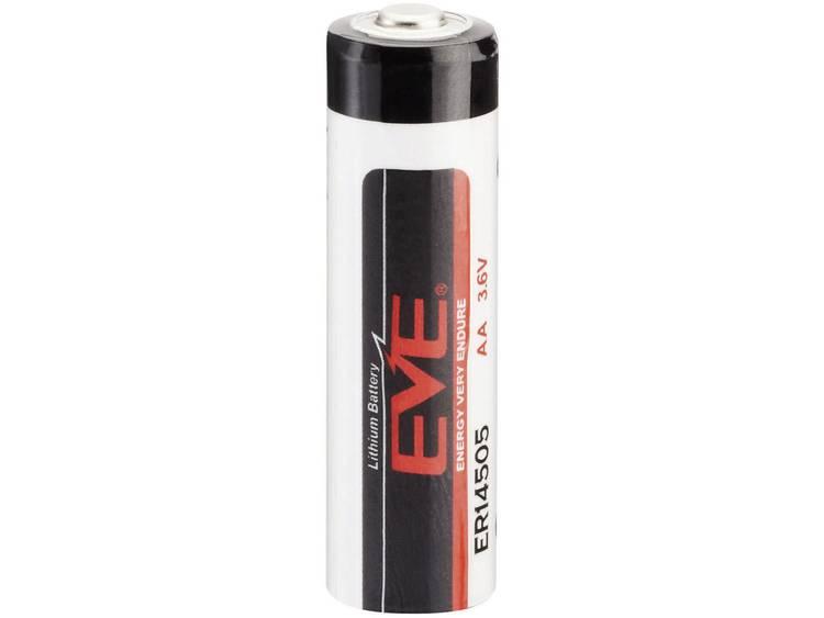 EVE AA (penlite) Lithium batterij 2600 mAh 3.6 V (� x h) 14.5 mm x 50.5 mm