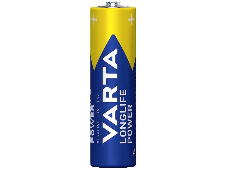 Varta Longlife Power LR06 AA batterij (penlite) Alkaline 1.5 V 4 stuk(s)