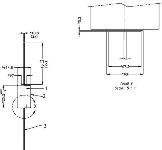 Varta CR1/2 AA CD Speciale batterij CR 1/2 AA CD Axiaal soldeerpin Lithium 3 V 970 mAh 1 stuks