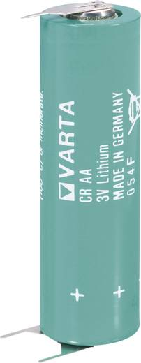Varta CR AA SLF Speciale batterij CR AA SLF U-soldeerpinnen Lithium 3 V 2000 mAh 1 stuks