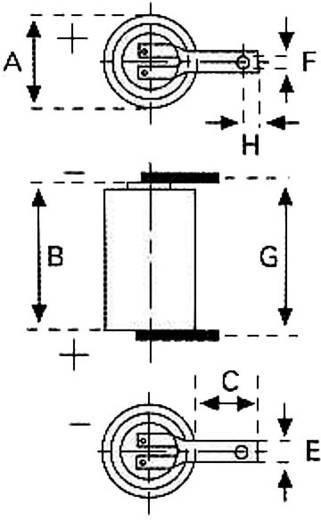 Varta CR AA LF Speciale batterij CR AA LF U-soldeerlip Lithium 3 V 2000 mAh 1 stuks