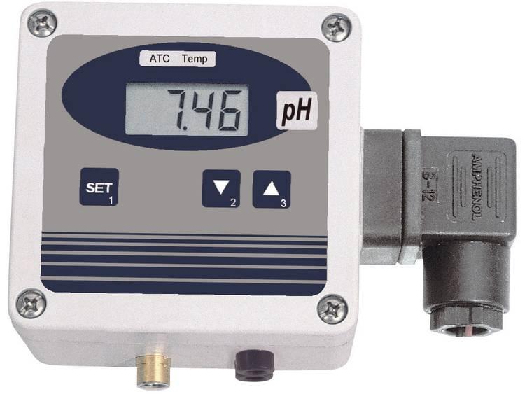 pH meter Greisinger GPHU 014 MP BNC pH waarde 0.00 14.00 pH Kalibratie Fabriek