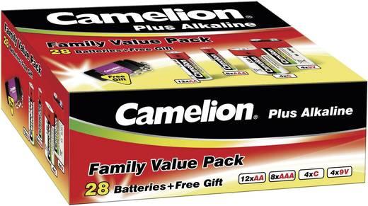 Camelion alkaline huishoudelijke set, 29-delig