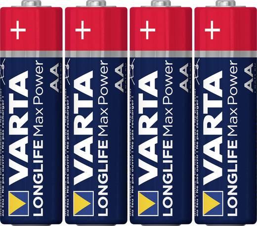 Varta Max Tech LR06 AA batterij (penlite) Alkaline (Alkali-mangaan) 1.5 V 4 stuks