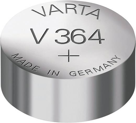 Varta Electronics SR60 Knoopcel Zilveroxide 20 mAh 1.55 V 1 stuks