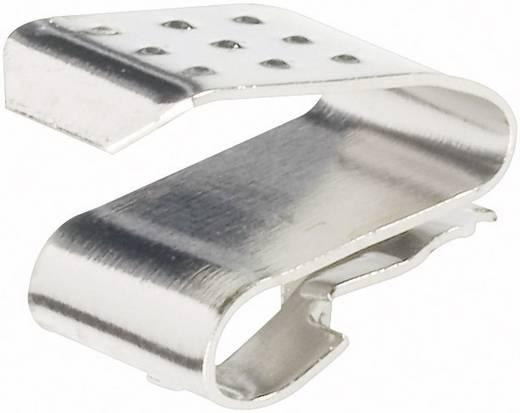 Keystone 204 Enkelvoudig contact 1 AAA (potlood), AAAA (mini), N (lady), 23 A, 27 A Steekmontage (b x h) 6.35 mm x 9.09