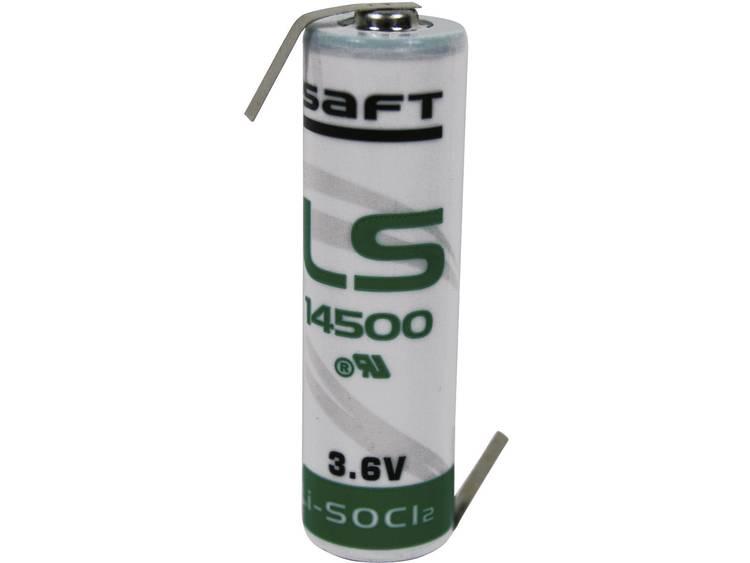 Saft AA (penlite) Lithium batterij 2600 mAh 3.6 V (� x h) 14.5 mm x 50.5 mm