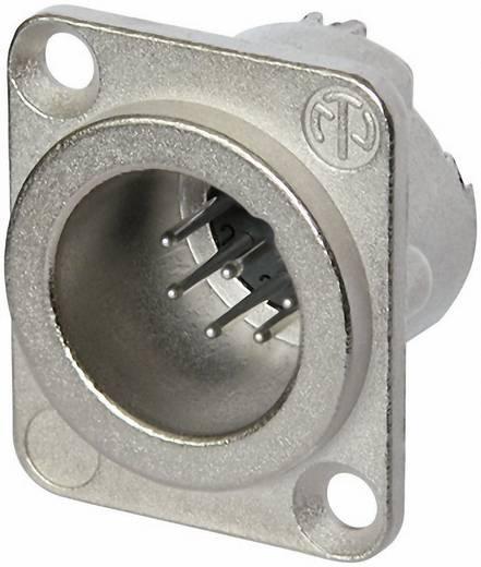 Neutrik NC7MD-LX XLR-connector Flensstekker, contacten recht Aantal polen: 7 Zilver 1 stuks