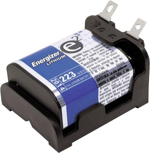 MPD BH223-L Batterijhouder 1 CR-P 2 Soldeeraansluiting (l x b x h) 47 x 38 x 26 mm