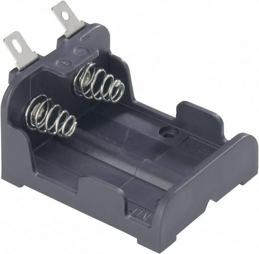 MPD BH223-L Batterijhouder 1 CR-P2 Soldeeraansluiting (l x b x h) 47 x 38 x 26 mm