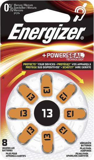 Energizer PR48 Knoopcel Zink-lucht 280 mAh 1.4 V 8 stuks