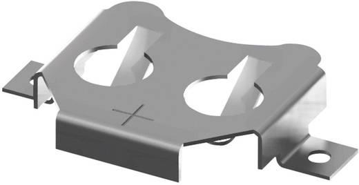 Keystone 3012 Knoopcelhouder 1 CR 1616, CR 1620, CR 1625, CR 1632 Horizontaal, Oppervlakte montage SMD (l x b x h) 23.22 x 15.07 x 3.96 mm