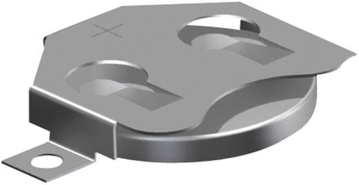 Keystone 3002 Knoopcelhouder 1 CR 2016, CR 2020, CR 2025 Horizontaal, Oppervlakte montage SMD (l x b x h) 30.73 x 19.86 x 3.96 mm