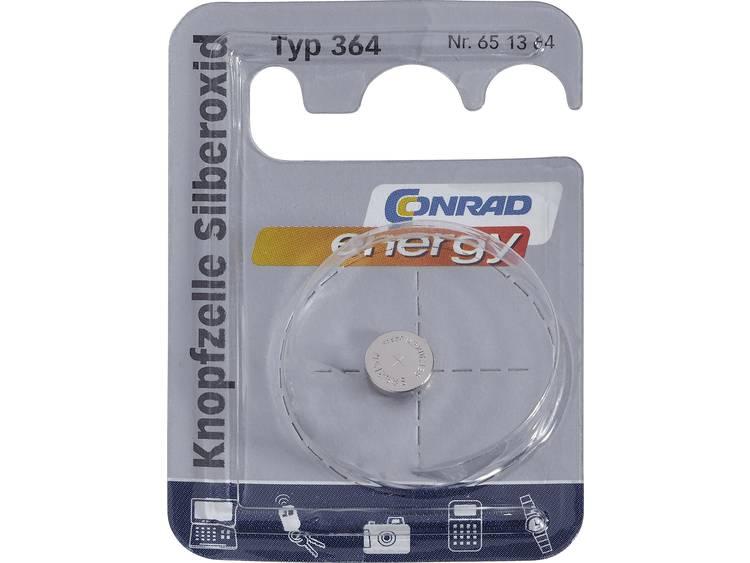 364 Knoopcel Zilveroxide 1.55 V 23 mAh Conrad energy SR60 1 stuk(s)