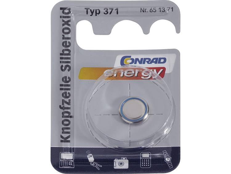 371 Knoopcel Zilveroxide 1.55 V 46 mAh Conrad energy SR69 1 stuk(s)