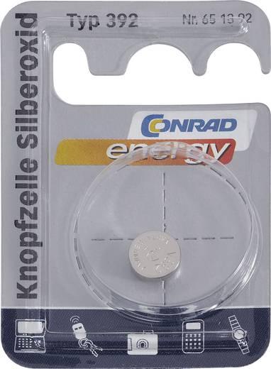 Conrad energy SR41 Knoopcel Zilveroxide 45 mAh 1.55 V 1 stuks
