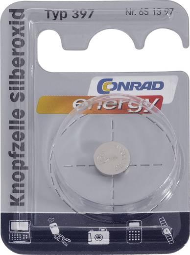 397 Knoopcel Zilveroxide 1.55 V 53 mAh Conrad energy 1 stuks