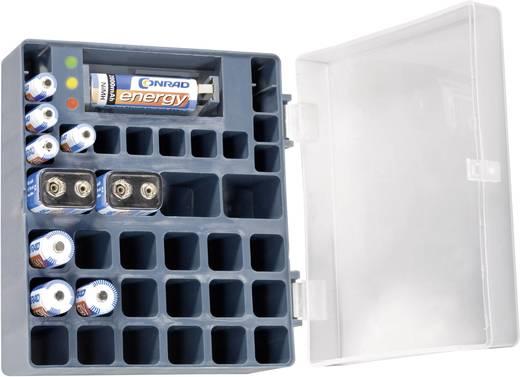 Conrad energy Oplaadbare batterijenset 9 V, AAA, AA, 10 stuks Incl. box