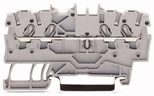 Doorgangsklem 3.50 mm Veerklem Zwart WAGO 2000-1405 100 stuks